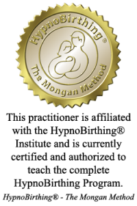 Certified HypnoBirthing practitioner - official seal