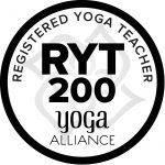 RYT 200 Registered Yoga Teacher - Yoga Alliance Badge